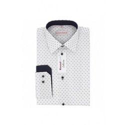 Koszula chłopięca biała we wzór 1J38AJ Oferta ważna tylko do 2023-05-29