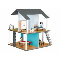 PLAYTIVE®JUNIOR Drewniany domek dla lalek z akcesoriami