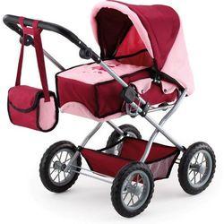 Bayer Design Wózek dla lalek Kombi Grande, czerwony - BEZPŁATNY ODBIÓR: WROCŁAW!