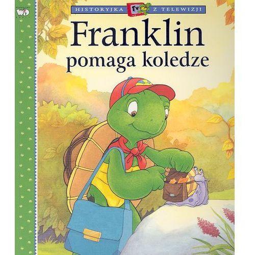 Książki dla dzieci, Franklin pomaga koledze. (opr. miękka)