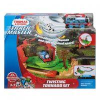 Pojazdy bajkowe dla dzieci, Zestaw Wirujące tornado Tomek i Przyjaciele