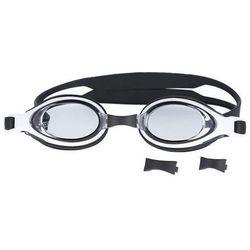 Okulary pływackie SPURT F-1600 AF Czarno-biały