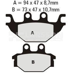 Klocki hamulcowe EBC (2 szt.) FA377 4102076 Adly/Herchee Crossroad