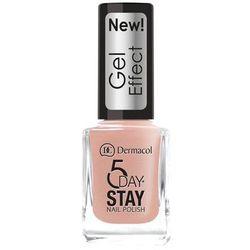 Dermacol 5 Day Stay Gel Effect lakier do paznokci 12 ml dla kobiet 27 Parisien Chic