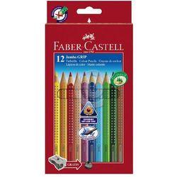Kredki ołówkowe Jumbo Grip 12 kolorów