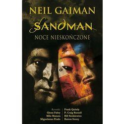 Noce nieskończone. Sandman - Neil Gaiman DARMOWA DOSTAWA KIOSK RUCHU (opr. twarda)