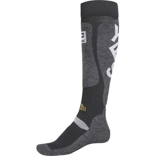 Odzież do sportów zimowych, skarpetki GLOBE - Cortina Snow Sock Charcoal (CHAR) rozmiar: S/M