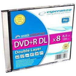 Płyty Esperanza DVD+R DL 8.5GB X8 - SLIM - 1szt.