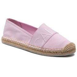 Espadryle CALVIN KLEIN JEANS - Espadrille Roped Toe Co YW0YW0151 Pearly Pink TN9