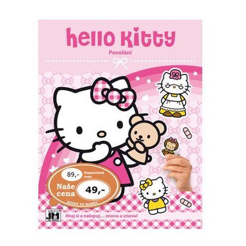Bajki, Hello Kitty-Povolání-Samolepková knížka neuveden
