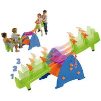 Huśtawki ogrodowe dla dzieci, FEBER Huśtawka Ogrodowa Równoważna 4-os.