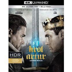 Król Artur: Legenda miecza 4K (Blu-ray) - Guy Ritchie