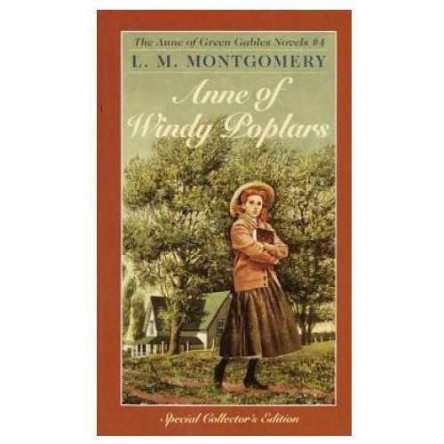 Książki do nauki języka, Anne of Windy Poplars (opr. miękka)