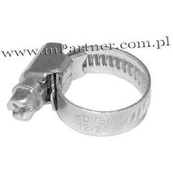 Obejma opaska zaciskowa ślimakowa skręcana 12-22mm 100szt