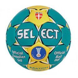Piłka ręczna Select Match Soft niebieska rozmiar 3