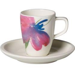 Villeroy & Boch - Artesano Flower Art Filiżanka do espresso ze spodkiem