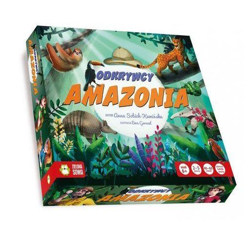 Gry dla dzieci, Odkrywcy - Amazonia - Zielona Sowa