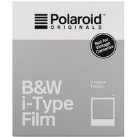 Pozostała fotografia, Polaroid Originals I-TYPE BW czarno-biały wkład do aparatów I-1 oraz One Step2