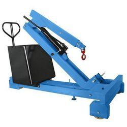 Żuraw z przeciwwagą, nośność maks. 550 kg, pompa hydrauliczna o działaniu podwój