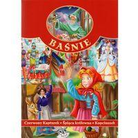 Książki dla dzieci, Baśnie - Czerwony Kapturek, Śpiąca Królewna... (opr. miękka)