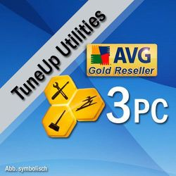 AVG PC TuneUP 2018 3 PC / 2 Lata