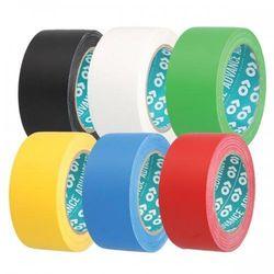 Taśma ostrzegawcza samoprzylepna - do wyznaczania ciągów komunikacyjnych | szerokość 50 mm - rożne kolory