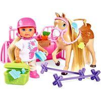 Lalki dla dzieci, Lalka Evi na kursie jazdy konnej - DARMOWA DOSTAWA OD 199 ZŁ!!!