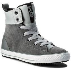 Trzewiki CONVERSE - Ctas Asphalt Boot Hi 658070C Cool Grey/Wolf Grey/Black