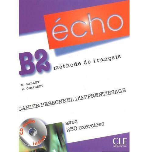 Książki do nauki języka, Echo franc. B2 ćwiczenia +CD (opr. miękka)