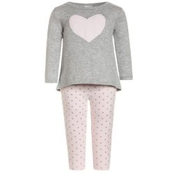 Carter's GIRL HEART RUFFLE BACK BABY SET Sweter heather