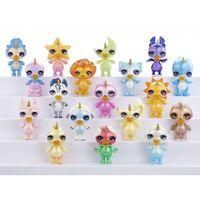 Figurki i postacie, Figurki Poopsie Sparkly Critters 2-1 display 24 sztuki