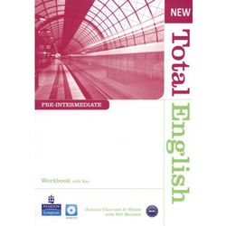 New Total English Pre-Intermediate Workbook With Cd (opr. miękka)