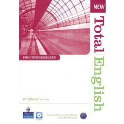 New Total English Pre-Intermediate Workbook With Cd (opr. miękka)
