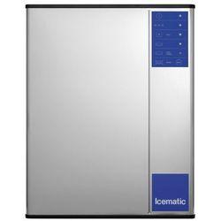 Łuskarka - wytwornica kostek lodu 370 kg/24 h, chłodzona wodą, 1,9 kW, 760x620x725 mm | ICEMATIC, M402W
