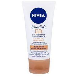 Nivea BB Cream 5in1 Beautifying Moisturizer, SPF10 Krem BB 50ml Medium To Dark
