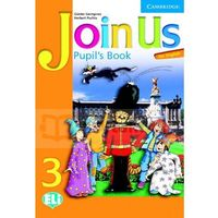 Książki do nauki języka, Join Us 3 PB - Gunter Gerngross, Herbert Puchta - książka