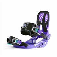 Wiązania snowboardowe, wiązania NIDECKER - Bindings Glam Purple Purple (PURPLE) rozmiar: S/M