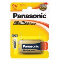 Baterie, 1 x Panasonic Alkaline Power 6LR61 / 9V (blister)