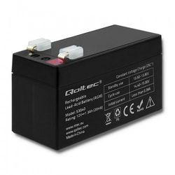 Qoltec Akumulator AGM   12V   1.3Ah   max. 0.39A