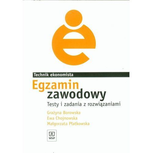 Biblioteka biznesu, Egzamin zawodowy Technik ekonomista Testy i zadania z rozwiązaniami (opr. broszurowa)