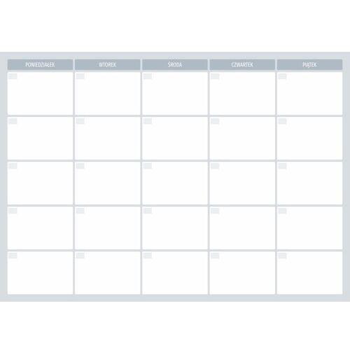 Tablice szkolne, Tablica suchościeralna planer tygodniowy 508