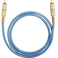 Kable audio, Kabel cyfrowy RCA, Oehlbach NF113, wtyk RCA / wtyk RCA, 75 Ohm, niebieski, 1,5 m