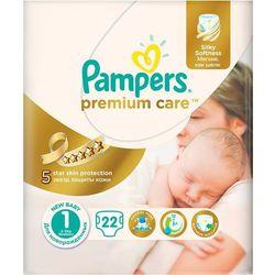 PAMPERS Premium Care 1 New Baby pieluchy 22szt pieluszki