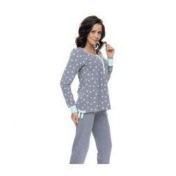 Rozpinana piżama Doctor Nap - Grey Mint