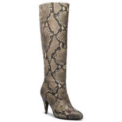 Kozaki TOMMY HILFIGER - Zendaya Snake Print Boot FW0FW04565 Snake Skin 0HG