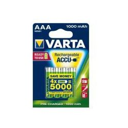 4 x akumulatorki Varta Ready2use R03 AAA Ni-MH 1000mAh