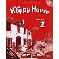 Biblioteka biznesu, New Happy House 2 Zeszyt ćwiczeń z płytą CD (opr. miękka)