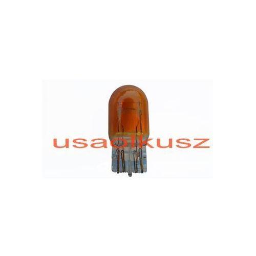 Żarówki halogenowe samochodowe, Żarówka pomarańczowa całoszklana dwuwłóknowa W21/5W