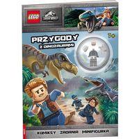 Książki dla dzieci, Lego Jurassic World. Przygody z dinozaurami (opr. broszurowa)