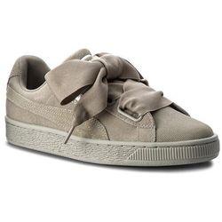 Sneakersy PUMA - Suede Heart Pebble Wn's 365210 02 Rock Ridge/Rock Ridge